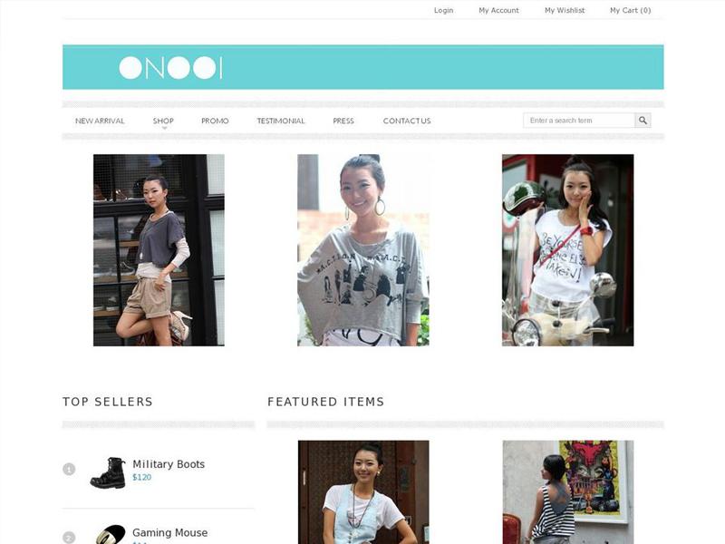 Onooi.com Online Shop