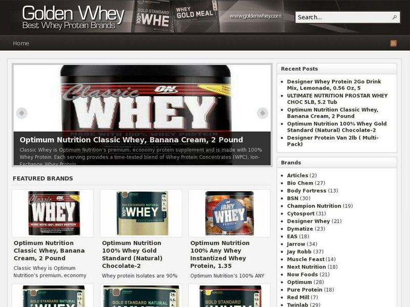 Best Whey Protein Brands