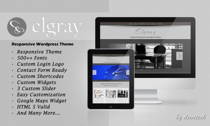 Elgray – WP Responsive Theme